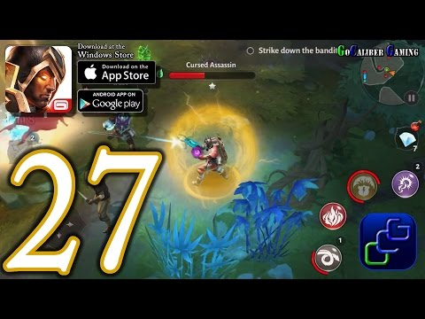 Dungeon Hunter 5 Android IOS Walkthrough - Part 27 - Solo Bounty 30 (EASY)