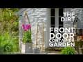 How To Make A Front Door Planter: The Dirt
