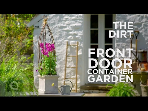 how to make a front doorHow To Make A Front Door Planter The Dirt  YouTube