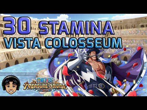 Walkthrough for Vista Chaos Colosseum 30 Stamina [One Piece Treasure Cruise]