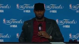LeBron James Postgame Interview #2 - Game 5 | Cavaliers vs Warriors | June 12, 2017 | NBA Finals