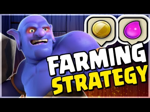 Farming Strategy for Gold & Elixir - Bowler Attacks | Clash of Clans