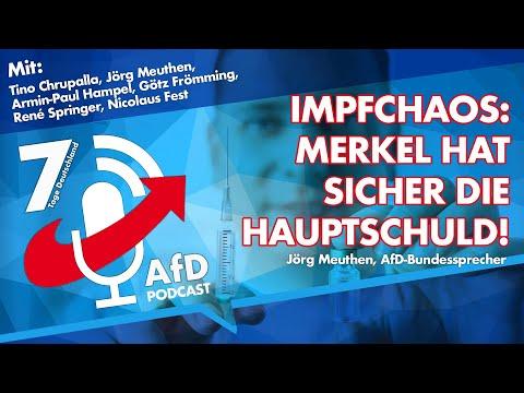 7 Tage Deutschland - der AfD-Wochenendpodcast vom 08.01.2021