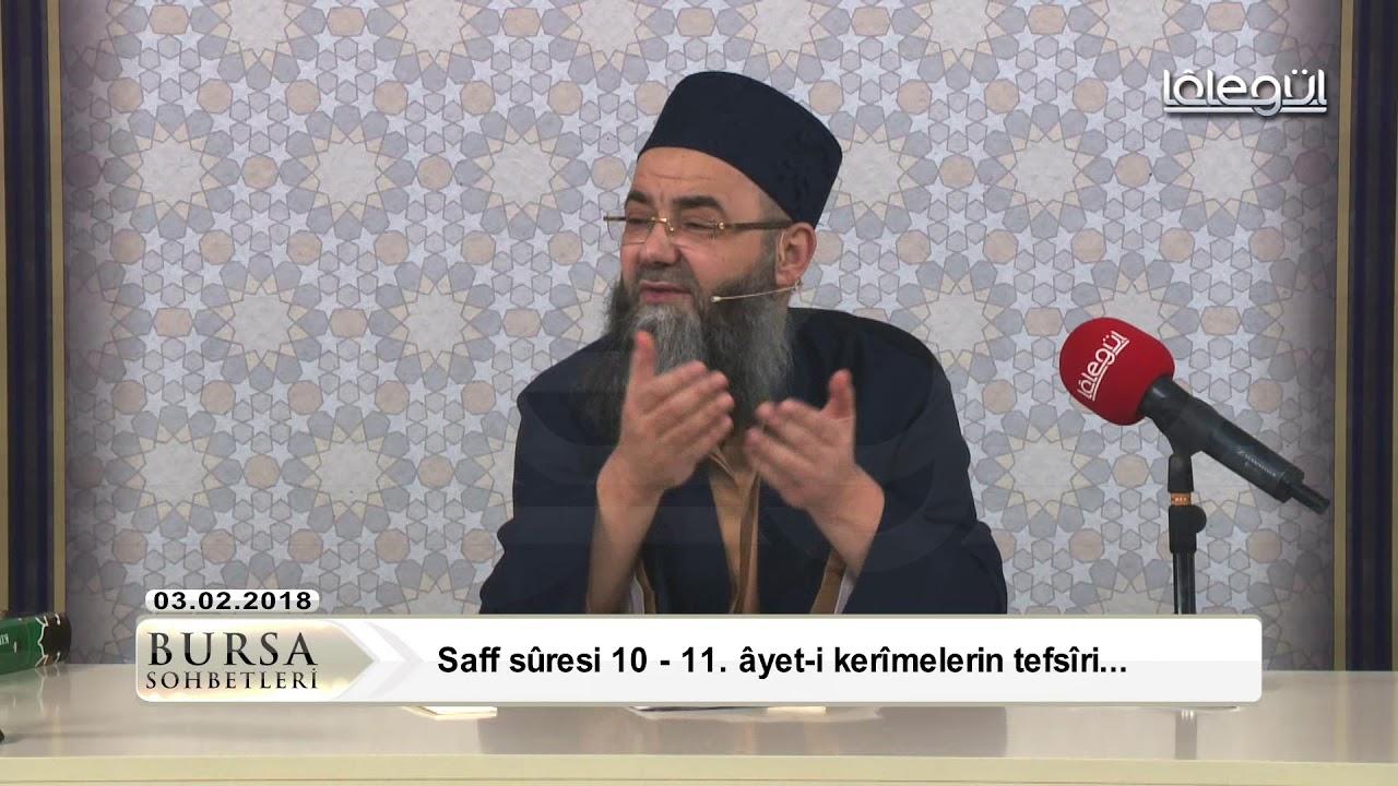 3 Şubat 2018 Tarihli Bursa Sohbeti - Cübbeli Ahmet Hocaefendi Lâlegül TV