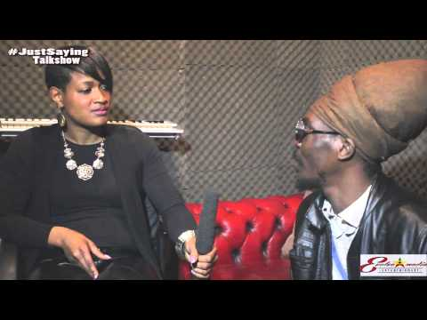 ANTHONY B iNTERVIEW WITH CANDY G#LBHMG TV