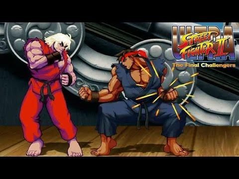 ULTRA STREET FIGHTER II The Final Challengers - Evil Ryu & Violent Ken Super Moves Gameplay