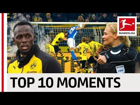 Greatest Moments of 2017/18 - Lewandowski's Record, Usain Bolt at BVB & More