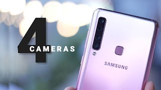 Samsung Galaxy A9 (2018) With Quad Rear Cameras Specs Overview