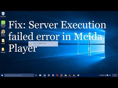 Fix: Server Execution Failed Error In Windows Media Player (4 Simple Methods)