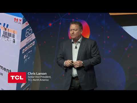 TCL Press Event at CES 2018