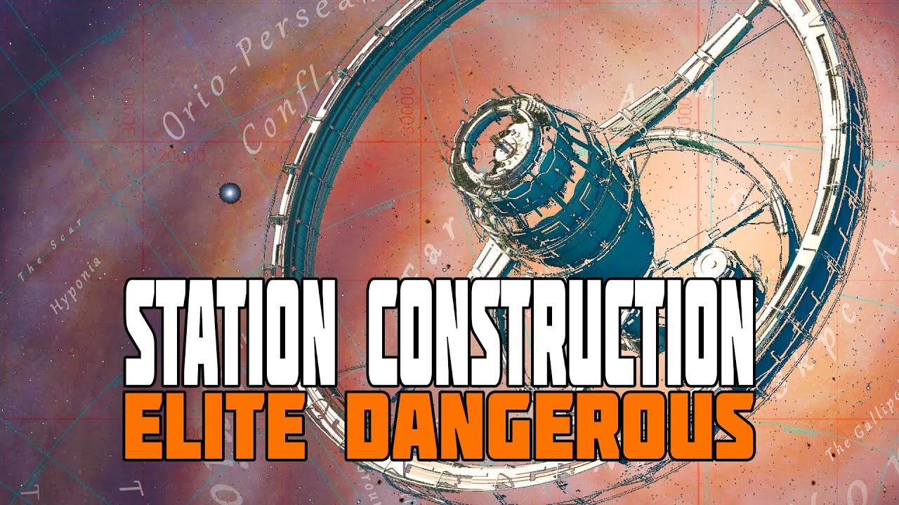 Elite Dangerous - Building a Station in the Center of the Galaxy - Mining  Goal