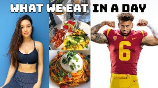 WHAT A NFL DRAFT PROSPECT EATS IN A DAY