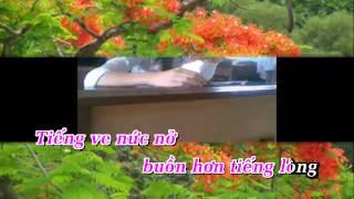 [Karaoke] Nỗi Buồn Hoa Phượng - Cẩm Ly
