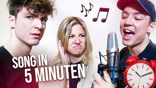 5 MINUTEN SONG - CHALLENGE 🎵😂 (mit KELLY)