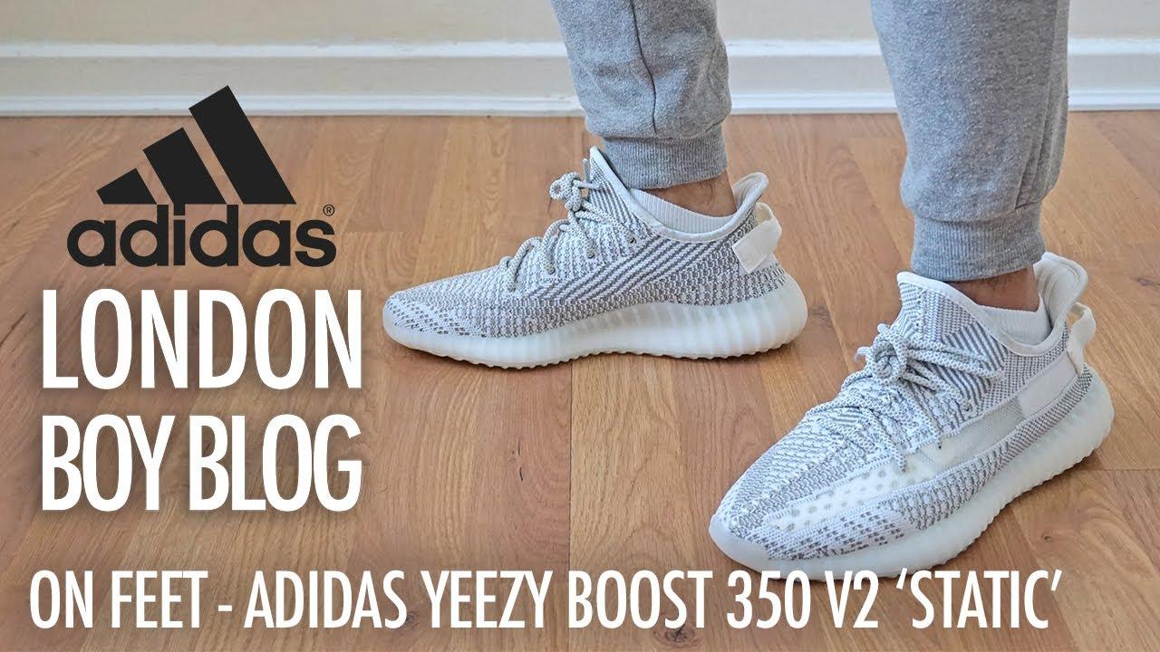 3cd4d50e36f9b On Feet - Adidas Yeezy BOOST 350 V2  Static  - YouTube