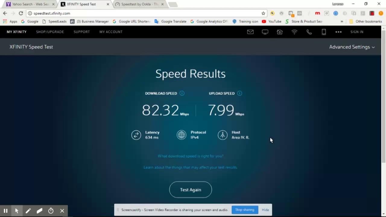 This Is So Far Best Speed Test Of Viasat2 Satellite Internet