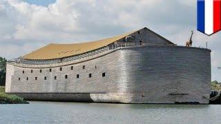 Noah's Ark replica: Boat based on Bible story sets sail for Brazil across the Atlantic - TomoNews