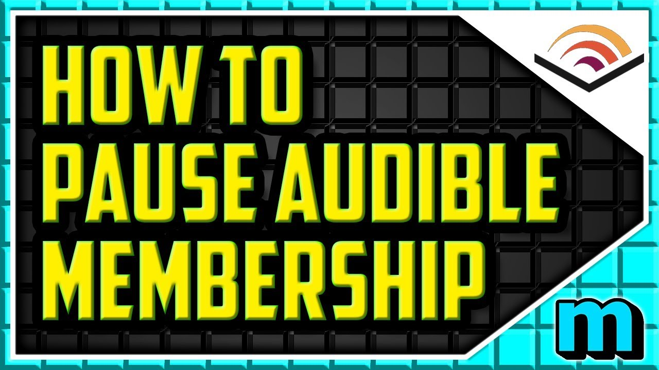 HOW TO PAUSE AUDIBLE MEMBERSHIP 2018 (EASY) - How to 'Cancel' Aubible But  Keep Credits (temporary)