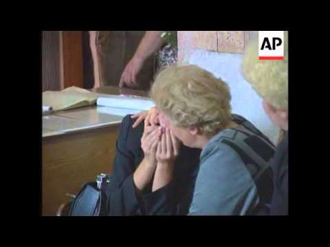 Russia - Relatives weep after plane crash