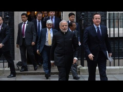 Narendra Modi at City of London at Guildhall,Full Function