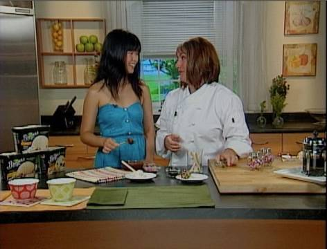 Ice Cream Lollipops with Gale Gand - Stupidly Simple Snacks - YouTube