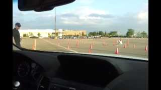 My first drive 2013 Acura RDX - on performance test track