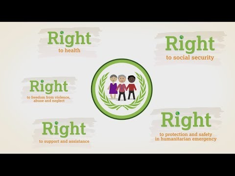 How older people's human rights are denied - animation