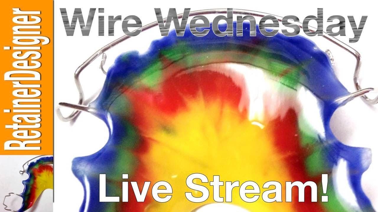 Wire Wednesday #22: RetainerDesigner Attempts Szara Dental Lab's Watermelon  Design Retainer