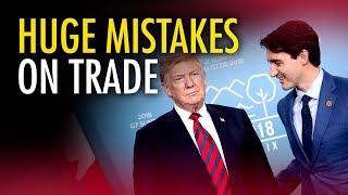 Trudeau can't hurt Trump in a trade war | Ian Lee