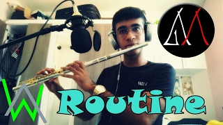 Alan Walker X David Whistle Routine - Flute cover.mp3