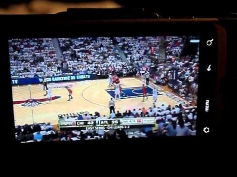 WatchESPN App For Android Showing NBA Playoffs LIVE