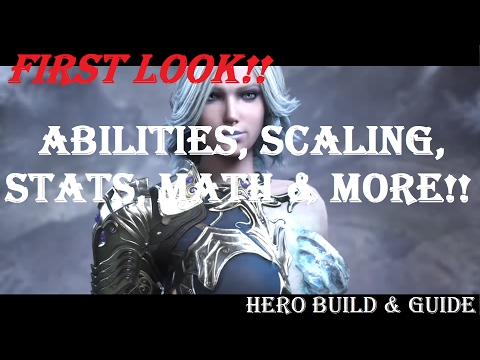 Aurora Scaling, Numbers, Math, Abilities & More!! Hero Build & Guide Paragon v37 Gameplay