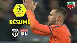 Angers SCO - Olympique Lyonnais ( 1-2 ) - Résumé - (SCO - OL) / 2018-19