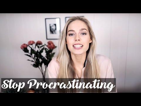 How to STOP Procrastinating   Cornelia