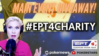 WIN a $5K Seat to EPT Main Event Online NOW!!