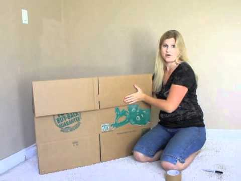 How To Use A U-Haul Box
