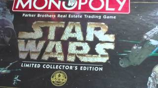 TODAYS BOOK HAUL AND A STAR WARS MONOPOLY SET!!