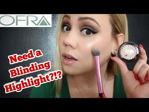 Ofra Highlighter (Blissful) Review/*mini* Demo /Try On/Swatches Fair Skin 2019