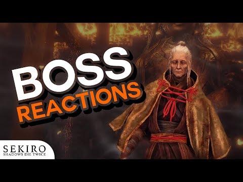 Sekiro Boss Reactions | Lady Butterfly