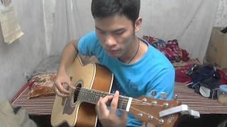Khúc Yêu Thương-Hoàng Quân Guitar cover