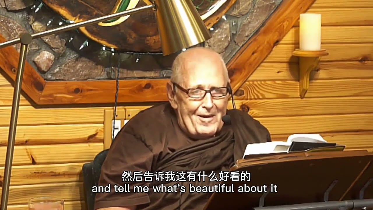 Satipaṭṭhāna Sutta -Chinese Subtitles- (MN 10) Foundations of Mindfulness