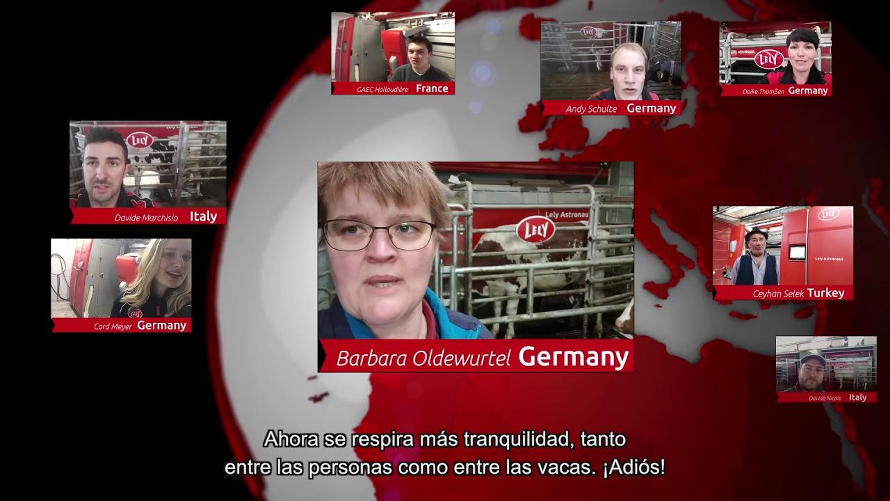 Lely Astronaut A5 – Un año de experiencia – Video 4 (ES)