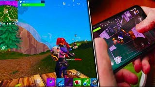 *NEW* FORTNITE MOBILE APP GAMEPLAY! - How To Get Fortnite Battle Royale on Mobile!