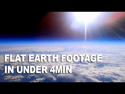 Footage of our Beautiful Flat Earth (20 Miles Up) thumbnail