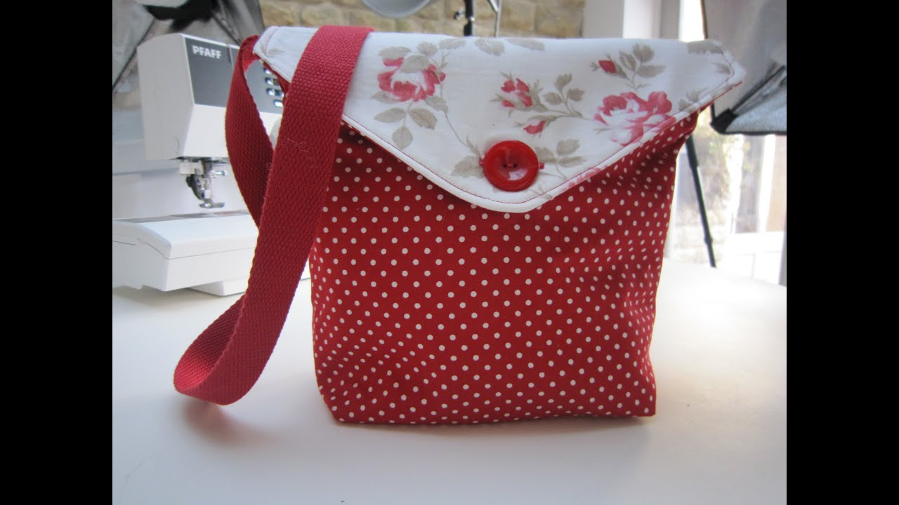Reversible messenger bag tutorial by debbie shore youtube jeuxipadfo Gallery