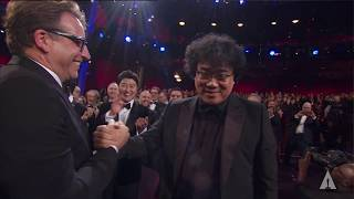 Bong Joon Ho wins Best Director