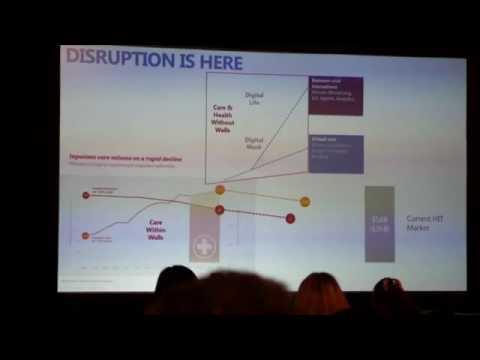 Neil Jordan Microsoft General Manager of Health Worldwide C3Med 2016