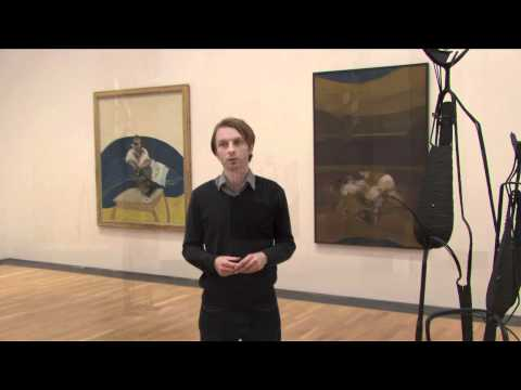 Contemporary Art and curator Nicholas Thornton at the National Museum of Art, Cardiff