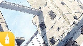 パース定規を使った背景の描き方講座 by 摩耶薫子|マンガ・イラストの描き方講座:お絵描きのPalmie(パルミー) thumbnail