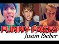 Justin Bieber FUNNY FACES